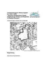 Vorhabenbezogener Bebauungsplan Nr. 70/24/1 - Stadt Königswinter