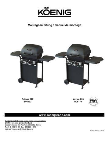 Notice de montage Primus Pro (PDF 3,16 MB) - Koenig