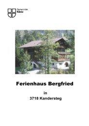 Prospekt Ferienhaus