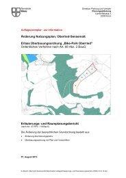 Erläuterungs- und Raumplanungsbericht [PDF ... - Gemeinde Köniz