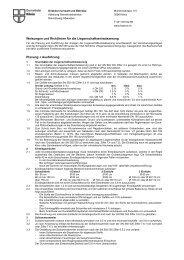 Weisungen und Richtlinien für die ... - Gemeinde Köniz