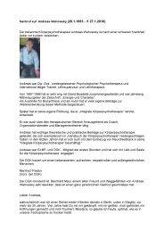 Nachruf auf Andreas Wehowsky - Deutsche Gesellschaft für ...