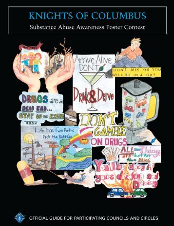 Substance Abuse Awareness Poster Contest Guide - Knights of ...