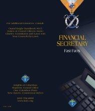 FINANCIAL SECRETARY - Knights of Columbus, Supreme Council
