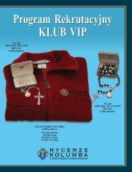 nie Program Rekrutacyjny KLUB VIP Program Rekrutacyjny KLUB VIP