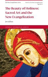 Sacred Art and the New Evangelization - Knights of Columbus ...