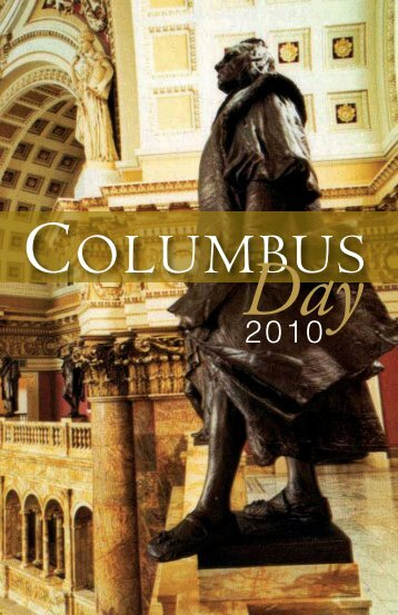 Columbus Day 2010 - Knights of Columbus, Supreme Council