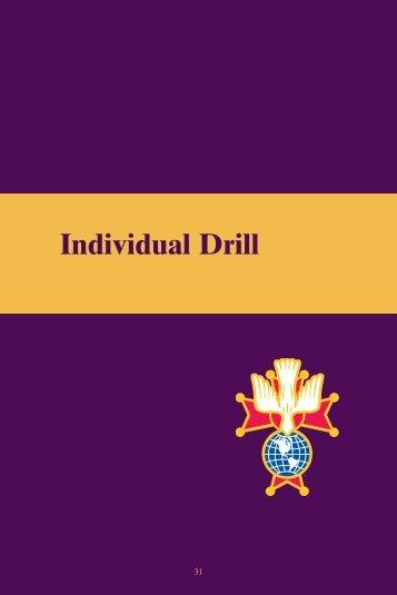 Individual Drill