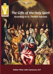 The Gifts of the Holy Spirit - Knights of Columbus, Supreme Council