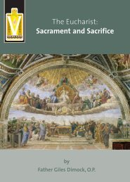 The Eucharist: Sacrament and Sacrifice - Knights of Columbus ...