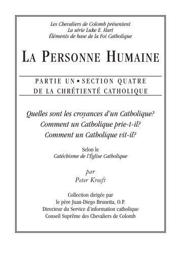 Version PDF - Knights of Columbus, Supreme Council