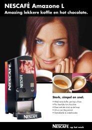 NESCAFÉ Amazone L Amazing lekkere koffie en ... - Koffieautomaat.nl