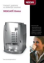 NESCAFÉ Komo - Koffieautomaat.nl