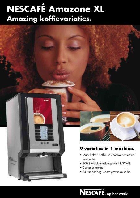 NESCAFÉ Amazone XL - Koffieautomaat.nl
