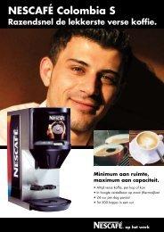 NESCAFÉ Colombia S - Koffieautomaat.nl