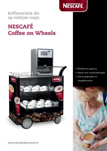 Nescafé Coffee on Wheels brochure - Koffieautomaat.nl(*)