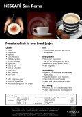 NESCAFÉ San Remo - Koffieautomaat.nl - Page 2