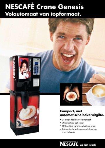 NESCAFÉ Crane Genesis - Koffieautomaat.nl