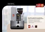 Douwe Egberts Schaerer S200 Easy Milc brochure - Koffieautomaat.nl