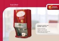 Douwe Egberts Cafitesse 60 Luxury Brochure - Koffieautomaat.nl