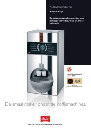 •Melitta CUP 2007_NL - Koffieautomaat.nl