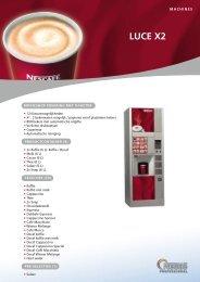 LUCE X2 - Koffieautomaat.nl(*)