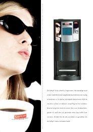 Cafeja Vista Freshbrew brochure - Koffieautomaat.nl