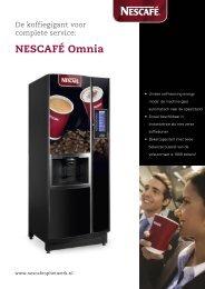 Nescafé Omnia Tabletop brochure - Koffieautomaat.nl