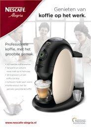 Nescafé Alegria A510 brochure - Koffieautomaat.nl