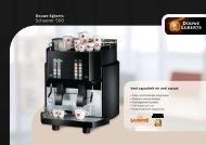 Schaerer 500 brochure - Koffieautomaat.nl