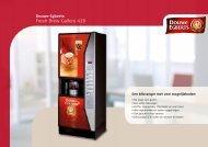 Douwe Egberts Gallery 420 brochure - Koffieautomaat.nl
