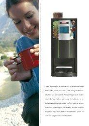 Cafeja Vista Bean 2 Brew Brochure - Koffieautomaat.nl