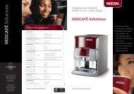 NESC AFÉ Solutions - Koffieautomaat.nl