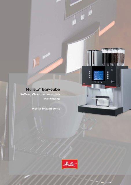 Melitta Bar-Cube II Brochure - Koffieautomaat.nl
