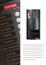 De Cafeja® Classic is een koffieautomaat met ... - Koffieautomaat.nl