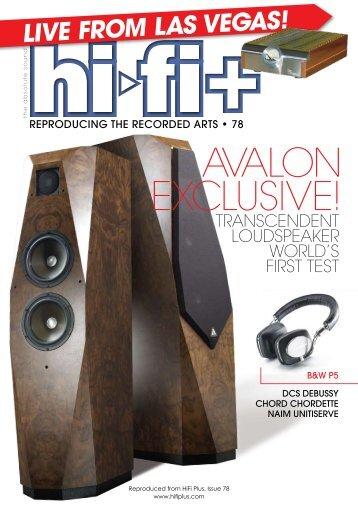 Avalon Transcendent - kog audio