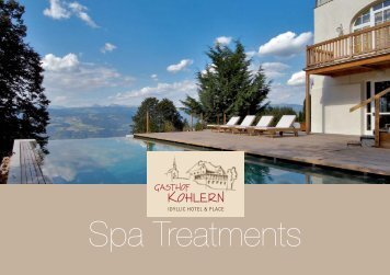 SPA Treatments - Kohlern