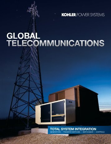 Telecom Brochure - Kohler Power