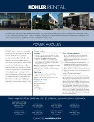 92104-Power Module Sell Sheet-FNL.indd - Kohler Power