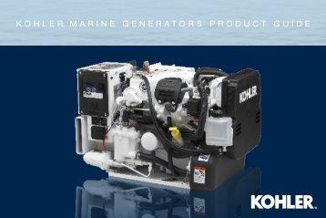 kohler® marine generators product guide - Kohler Power