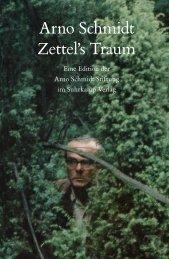 Arno Schmidt Zettel's Traum - Kohlibri