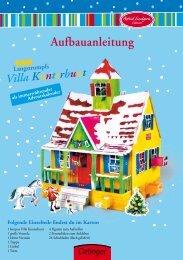 Aufbauanleitung - Verlag Friedrich Oetinger