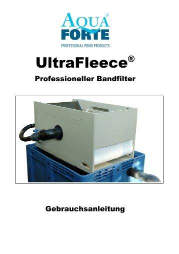 Gebrauchsanleitung Ultra Fleece - Koi