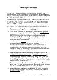 Erziehungsbeauftragung - Infos StMAS 2012 01 14 - KoJa