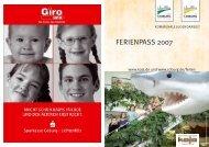 FERIENPASS 2007 - KoJa