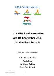 Ausschreibung 2006 - KoJa