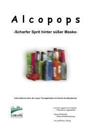 Alcopops – Scharfer Sprit hinter süßer Maske - Gemeinsam initiativ