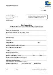Zuschussantrag für Teilnehmer/innen an Kinder ... - KoJa