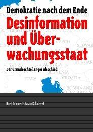 Desinformation und Überwachungsstaat - kokhaviv publications