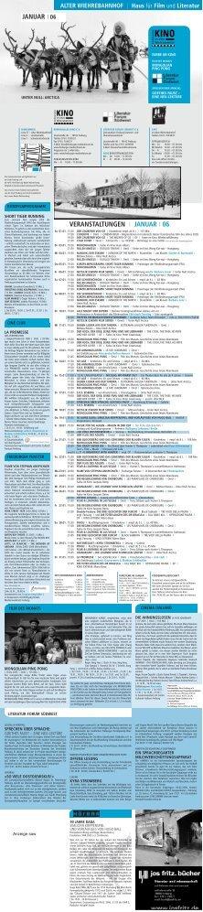 veranstaltungen i januar i 06 januar   06 - Kommunales Kino